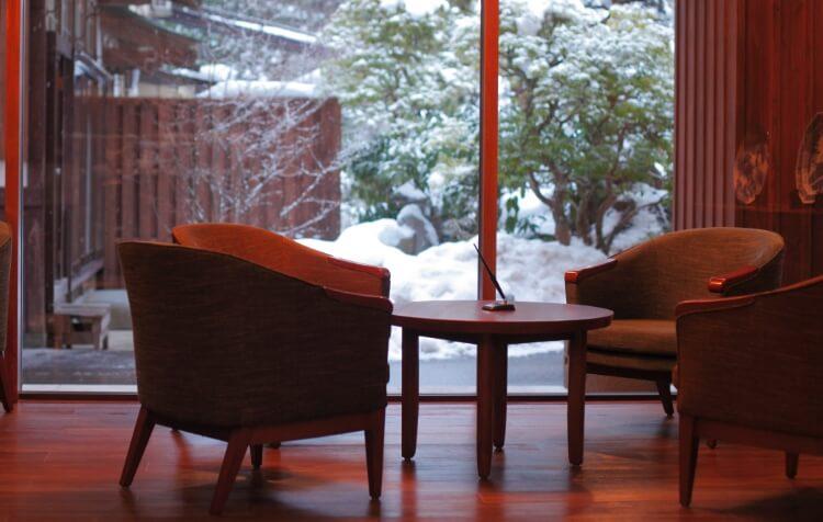 鎌先温泉 冬
