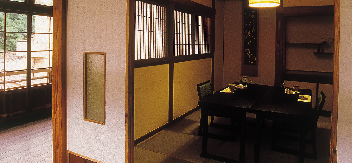 一條旅館:個室料亭でのお食事