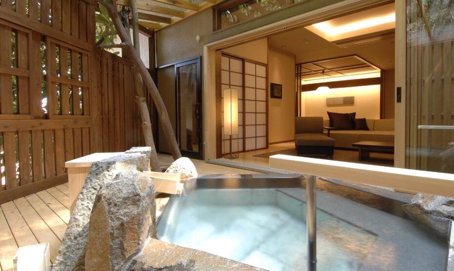 露天風呂付き客室 一條スイート