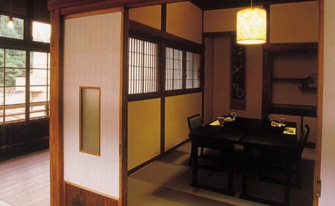 完全個室の料亭「匠庵(しょうあん)」