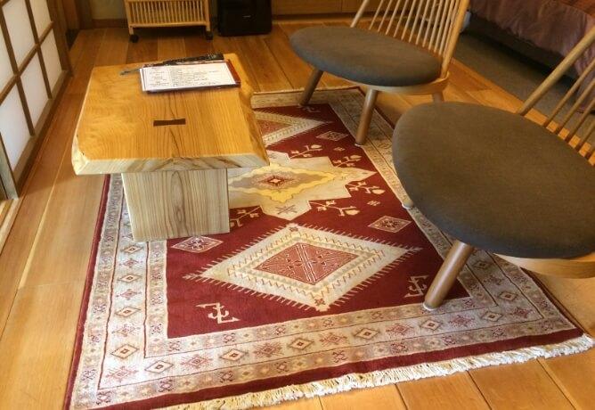 「天童木工」の椅子
