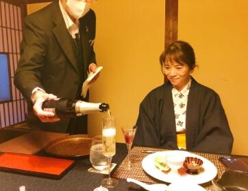 一條旅館で「ミシュランガイド宮城」3つ星+の料理を堪能